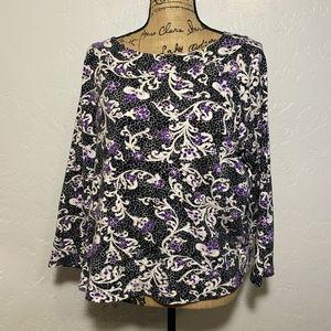 Jones New York Signature Woman blouse, size 1X
